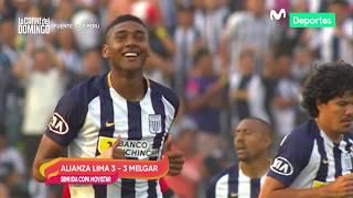 La Carne del Domingo: Alianza Lima empató 3-3 con Melgar en semifinal de la Copa Movistar