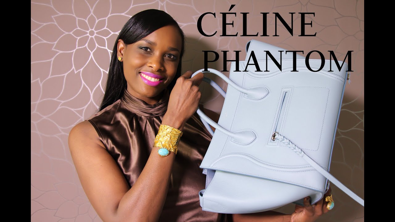 NEW!! C¨¦LINE PHANTOM LUGGAGE REVEAL - YouTube