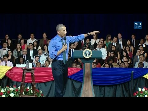 Obama Town Hall In Lima, Peru - Full Event