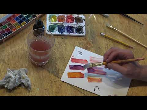 Semester Course in Watercolor and Ink in 40 Minutes