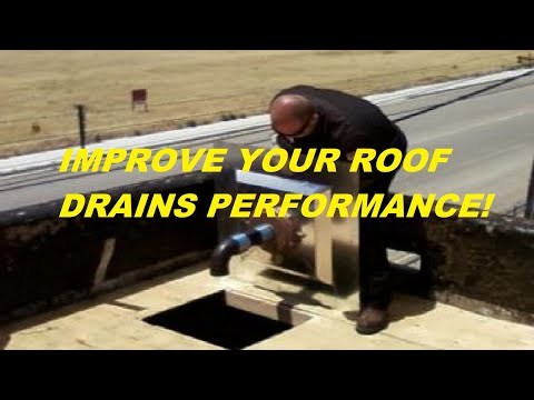 Eliminate Standing Rainwater On Your Flat Roof With A Sump Pan All Tech Plumbing Youtube