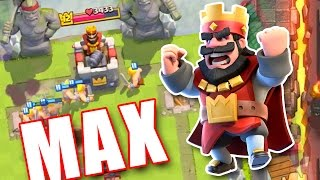 BEATING MAX PLAYERS  ::  Clash Royale  ::  HOW TO BEAT BETTER CARDS