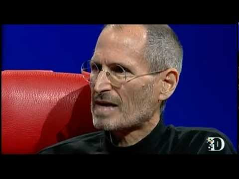 Steve Jobs talks about Core Values at D8 2010