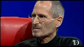 Steve Jobs talks about Core Values at D8 2010