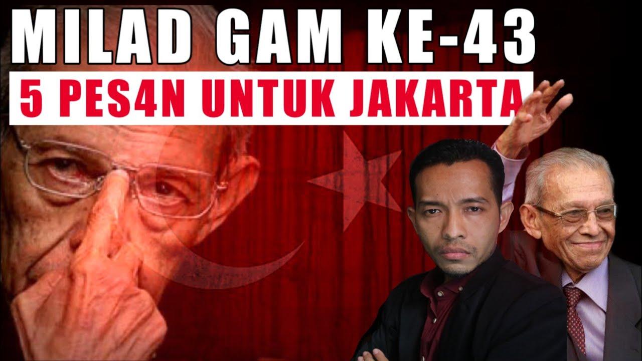 MILAD GAM KE 43 TAHUN 2019 - 5 PES4N UNTUK JAKARTA