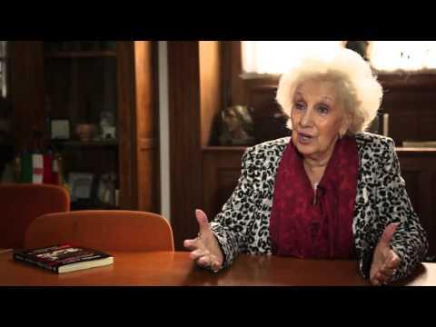 Estela de Carlotto, Abuela Plaza de Mayo Interview March 2013