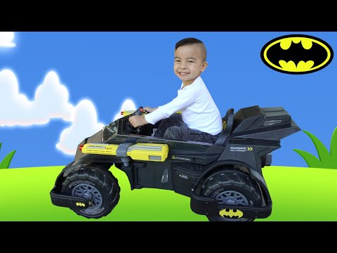 Justice League Batman  Batmobile Battery Powered Ride On CKN Toys