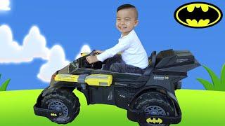 Justice League Batman  Batmobile Battery Powered Ride On CKN Toys