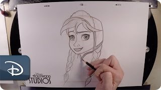 How-To Draw Anna | Disney