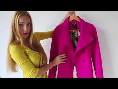 ОБРАЗЫ: Как носить пальто цвета ФУКСИЯ  //  Fuchsia coat LOOKBOOK
