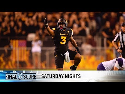 Highlights: Arizona State football upsets No. 5 Washington in defensive clash