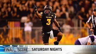 connectYoutube - Highlights: Arizona State football upsets No. 5 Washington in defensive clash