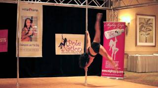 Miss Texas Pole Dance Competition 2011 - First Round - Let Me Love You