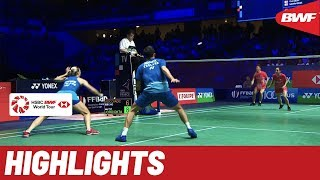 YONEX French Open 2019 | Semifinals XD Highlights | BWF 2019