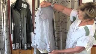 How to Refashion a Men's Dress Shirt, with Diane Ericson at The Marcy Tilton Studio