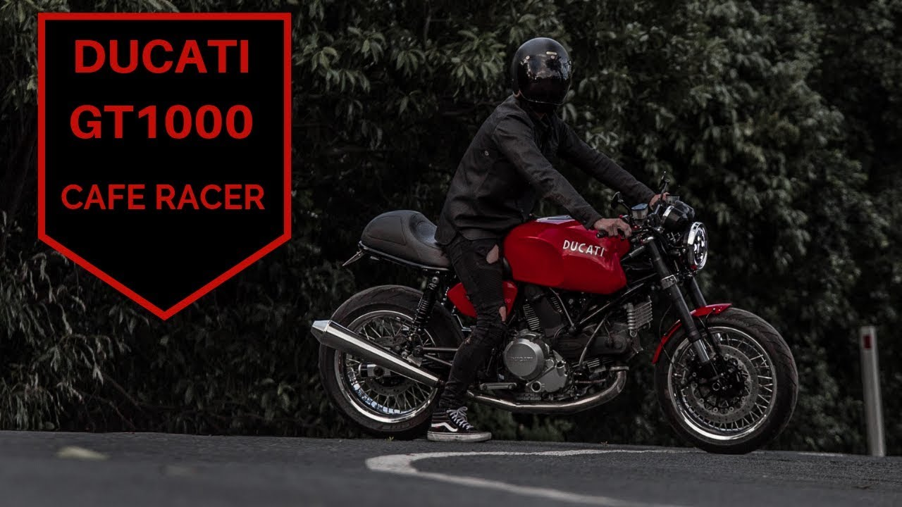 Ducati Cafe Racer - GT1000 How I built it