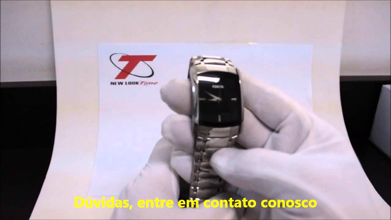 5c9a04562be Relógio Masculino Fossil FFS4156 Z - New Look Time - YouTube
