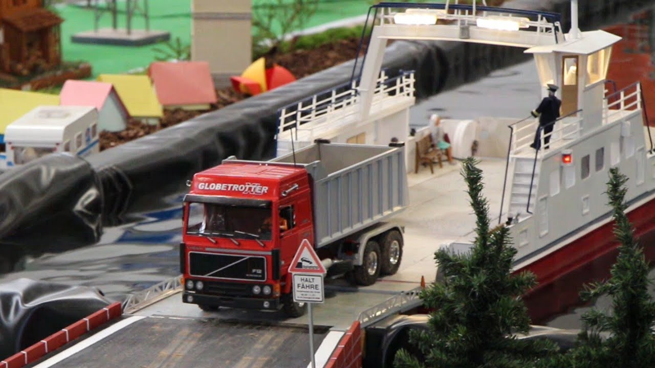 RC Truck ferry from Wedico - Erlebniswelt Modellbau Kassel ...