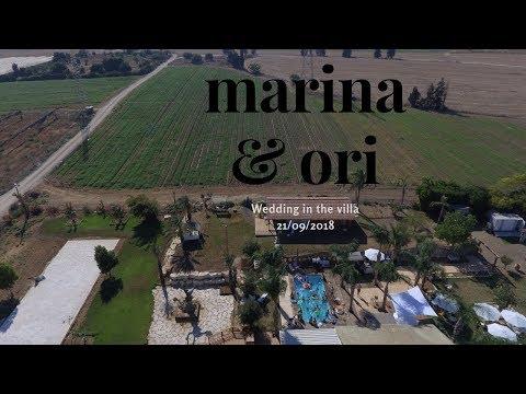marina and ori Wedding in villa 21.09.2018