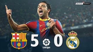 Barcelona 5 x 0 Real Madrid ● La Liga 10/11 Extended Goals \u0026 Highlights HD