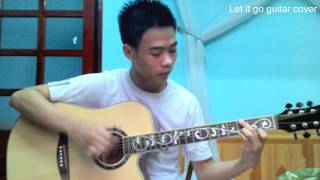 Let it go guitar solo by Tùng Phạm ( Tab Sungha Jung)