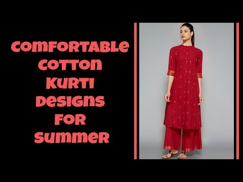 Comfortable Cotton Kurti Designs For Summer Part: 05