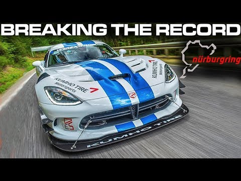 Will the 2017 VIPER ACR break the NURBURGRING RECORD?