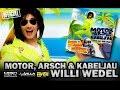 Motor Arsch & Kabeljau - Willi Wedel (offizielles Video) | Willi Wedel, das offizielle Musikvideo zu