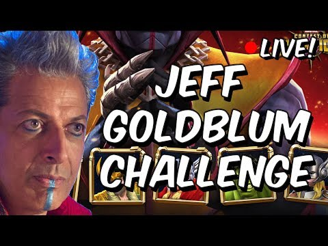 Grandmaster Goldblum Challenge LIVE!!  - Marvel Contest Of Champions