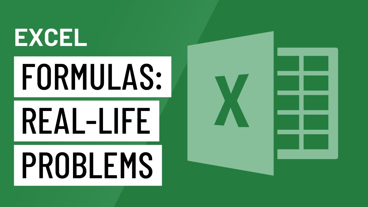 Solving Real-Life Problems in Excel