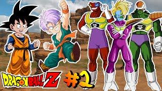Dragon Ball Z : La Historia De Goten Y Trunks Contra Cooler #2 - El Ejercito De Cooler !