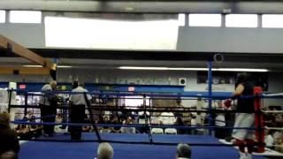 Ventura KO Boxing Show Ricardo Cardenas Fillmore Boxing Club vs Jorge Solis Unattached Round 3