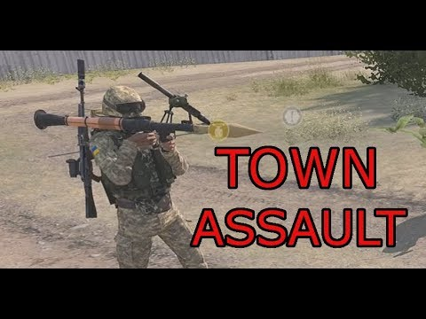 Ukrainian Town Assault: Arma 3 Zeus Operation Red Drake