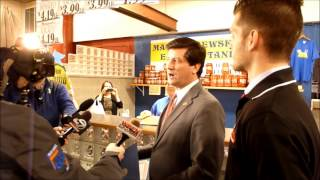 Erie County Executive Mark Poloncarz Pardons Butter Lamb - 04/16/2014
