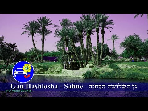 Israel tourism Gan HaShlosha Sahne Water Park in Mount Gilboa פארק מים גן השלושה הסחנה נקודת חן