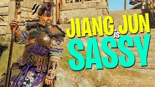 Jiang Jun is Sassy - For Honor Marching Fire