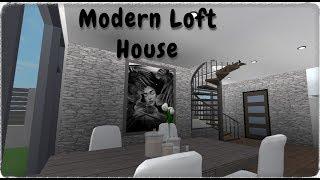 Modern Loft House | Roblox | Bloxburg