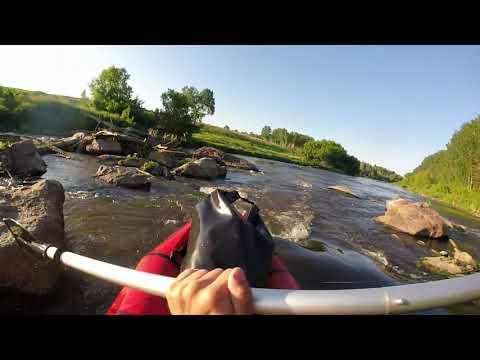 Сплав выходного дня на реке Миасс