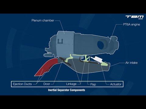 TBM 900  Inertial Separator Utilization