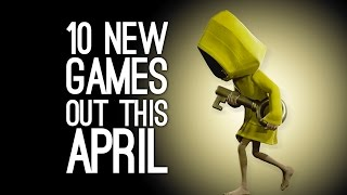 10 New Games out in April 2017 for PS4, Xbox One, Switch, PC
