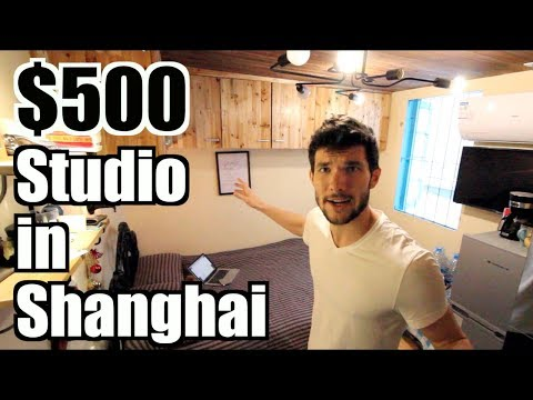 What My $500/Month Shanghai Studio Apartment Looks Like