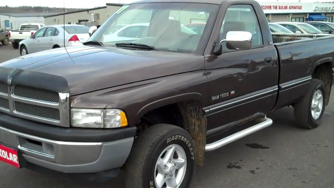 1997 dodge ram 4x4 long bed pickup walkaround by karl spring kolar chev buick gmc duluth mn [ 1280 x 720 Pixel ]