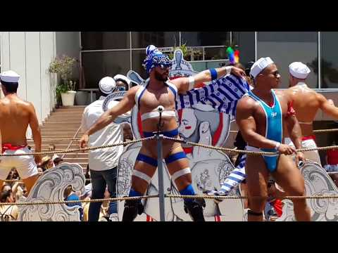 Gay Pride Parade Tel Aviv 2017. Гей парад в Тель Авиве 2017.