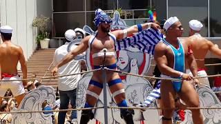 Gay Pride Parade Tel Aviv 2017. Гей парад в Тель Авиве 2017. מצעד הגאווה תל אביב 2017