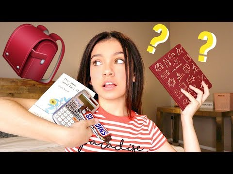 what&39;s in my backpack 2019 *end of school year