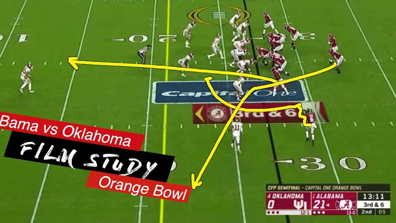 Film Study: Alabama vs Oklahoma, Orange Bowl - YouTube