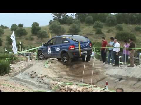 Ssangyong Actyon Trial Youtube