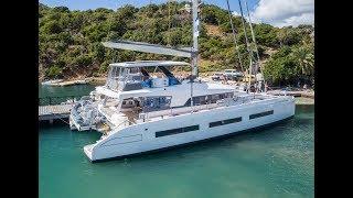 World's Largest Lagoon Catamaran - Lagoon 77 Walkthrough W/ Commentary [4K]