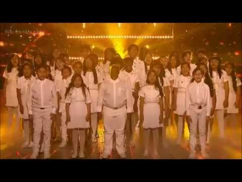Finalist Perform Fix You With Bancroft Middle School Choir - X Factor USA (Results)