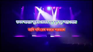 Download Tika-Tolir More Ekta Hall Royeche | Bangla Karaoke | Motin Chowdhury | Mahiya Mahi MP3 song and Music Video